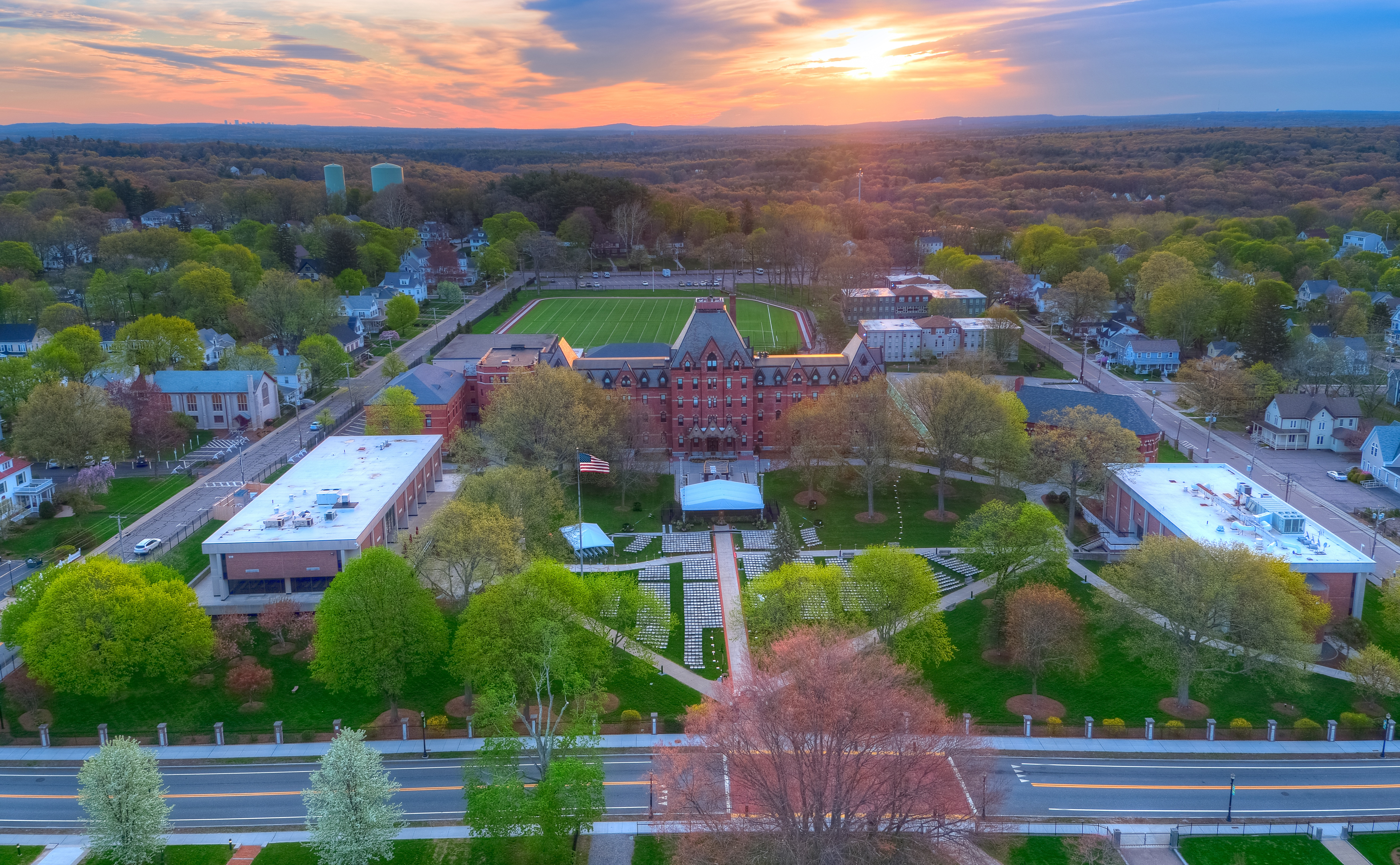 Dean-Hall-Sunrise-Commencement